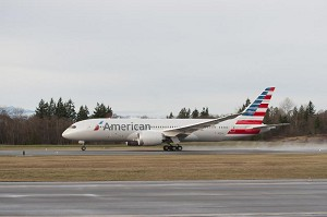 American Airlines Welcomes 1st Boeing 787 Dreamliner