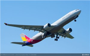 Asiana Airlines Signs FHS Components Contract With Airbus for its A330 Fleet