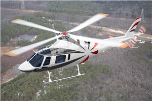 1st AW119Kx Helicopter Delivered to China