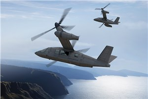 Bell Helicopter Exhibits V-280 Tiltrotor Mockup at Army Aviation Summit