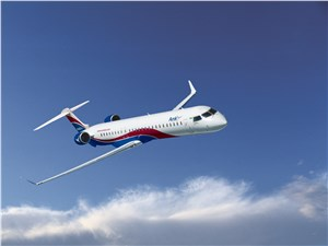 Arik Air Places World's 1st Bombardier CRJ1000 NextGen Aircraft With 3-Abreast Business-Class Seating Into Service