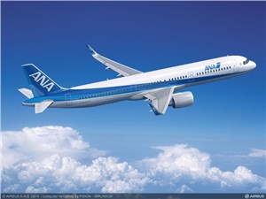 ANA Holdings Firms Up Order for 7 Additional A321s