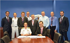 In-Service Support Contract Signed for Navy Frigates Gas Turbines