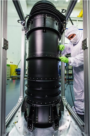 NGC's Astro Aerospace Delivers JWST Deployable Tower Assembly