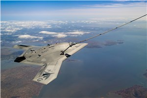 X-47B Unmanned Aircraft Demos the 1st Autonomous Aerial Refueling