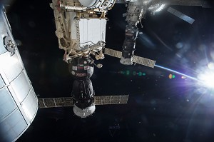 Russian Resupply Ship Experiencing Difficulties; ISS, Crew are Fine