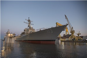 Navy to Christen New Guided Missile Destroyer John Finn