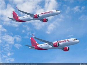 Avianca Firms Up Order for 100 A320neo Family Aircraft