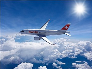 SWISS Revealed as 1st Airline in the World to Take Delivery and Operate the Bombardier CSeries Aircraft