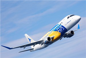 Embraer Projects 2,060 New Deliveries of 70 to 130-Seat Jets in North America over the Next 20 Years