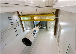 DirecTV-15 and SKY Mexico-1 Are Integrated for Their Heavy-lift Mission With Ariane 5