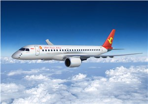 Embraer Confirms Firm Order from Tianjin Airlines for E-Jets and E-Jets E2