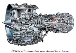 SAS Selects V-Services for 50 V2500 Engines