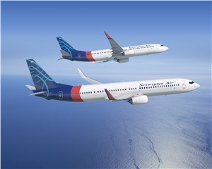 Boeing, Sriwijaya Air Announce Order for 2 Next-Generation 737-900ERs