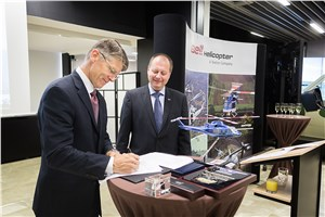 LOM PRAHA and Bell Helicopter Sign MoU for Service and Support of Bell Helicopter Military Aircraft