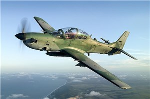 Embraer Defense & Security Sells 5 A-29 Super Tucano to the Ghana AF