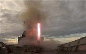 Melbourne Fires Evolved Sea Sparrow Missiles