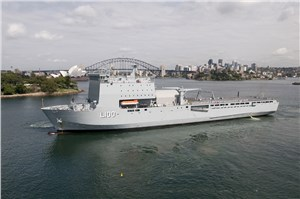 In-Service Support Contract Awarded for HMAS Choules