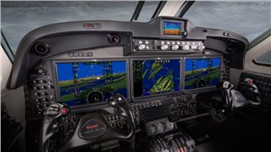 Rockwell Collins to Showcase King Air Featuring Pro Line Fusion Touchscreen Avionics at AirVenture 2015