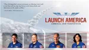 NASA Selects Astronauts for 1st US Commercial Space Flights