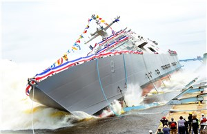 LM-Led Team Launches The Future USS Little Rock