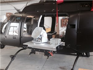Hughes Demos High Definition Video Over Satellite from Rotary Wing Aircraft