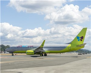 Boeing Celebrates Jin Air's 1st Direct-Delivered Next-Generation 737-800