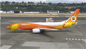 Boeing Delivers Nok Air's 1st Direct-Purchased Next-Generation 737-800