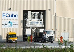 The Spaceport's New Fcube Facility Enters Operations With its 1st Fueling of a Soyuz Launcher's Fregat Upper Stage