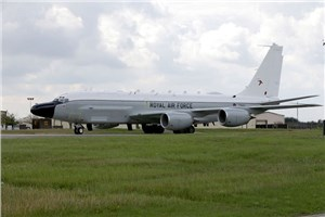 New RAF Intelligence Aircraft Arrives in UK Seven Months Early