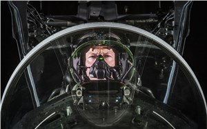 BAE's Most Advanced Fighter Pilot Helmet Takes to the Night Skies