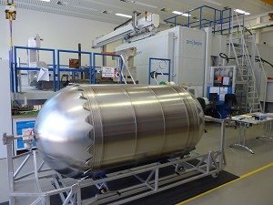 Airbus Defence and Space builds 1st hardware for Orion space vehicle's service module
