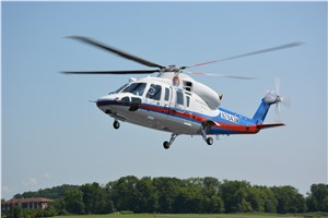 China MOT Accepts 8th S-76D Helicopter for Search and Rescue Operations