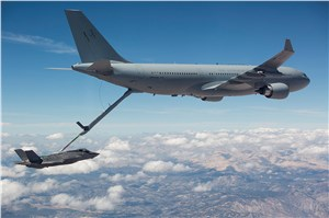 1st Refuel for RAAF KC-30A Refueller to F-35A (JSF)