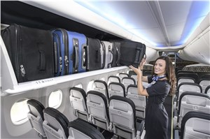 Alaska Airlines Increases Overhead Storage Nearly 50 Percent with 1st 737 Featuring New Boeing Space Bins