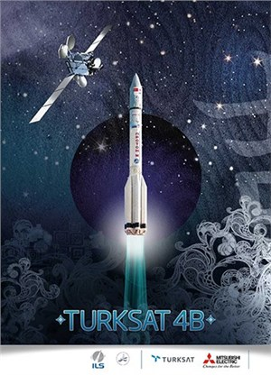 ILS Proton Successfully Launches the Turksat-4b Satellite for Turksat