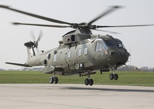 1st Upgraded AW101 Merlin HC Mk3 Delivered to Royal Navy