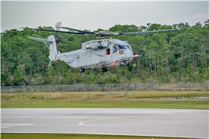 CH-53K Helicopter Achieves 1st Flight