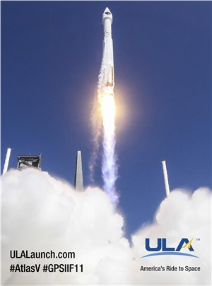 ULA Successfully Launches GPS IIF-11 Satellite for USAF