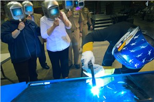 LM-Led Team Lays Keel on Nation's 15th LCS