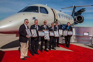 Embraer Legacy 500 Executive Jet Sets New Speed Records