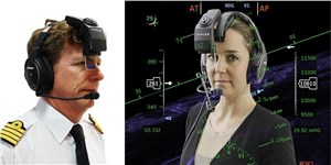 Thales Unveils Revolutionary Head-worn Display System for Business Jets