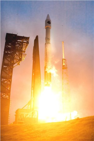 Orbital ATK's Cygnus Spacecraft Successfully Launched on Cargo Delivery Mission to ISS