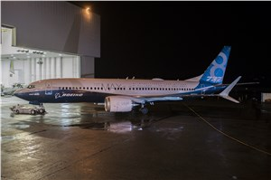 Boeing Debuts 1st 737 MAX 8