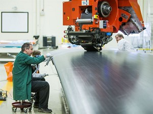 Saab Delivers Advanced Wing Component To Clean Sky Project