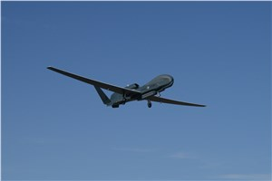 NATO Alliance Ground Surveillance Aircraft Successfully Takes Flight