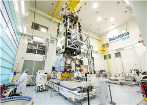 Brazilian Geostationary Satellite Enters the Integration and Testing Phase