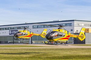 Airbus Helicopters Delivers 4 Additional H135 Helicopters to LPR in Poland