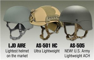 ArmorSource to Provide 105,000 Lightweight Advanced Combat Helmets to the US Army