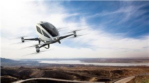 EHang Launches 1st-Ever Autonomous Aerial Vehicle ''EHang 184'' at CES